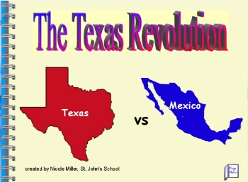 The Texas Revolution on emaze